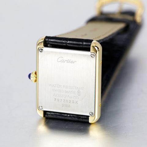 卡地亚cartier-TANK SOLO系列 W5200002 女士石英表(已停产)