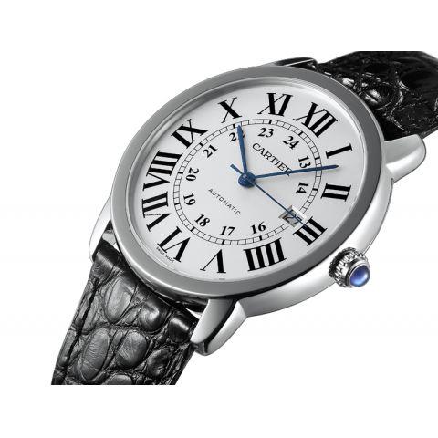卡地亚Cartier-Ronde solo de Cartier系列 W6701010 机械男表