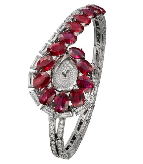 卡地亚推出TRAIT D'ÉCL AT高级珠宝腕表 尽显美轮美奂的魅惑风情
