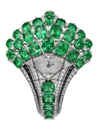 2017年日内瓦国际高级钟表展 卡地亚推出全新珠宝腕表
