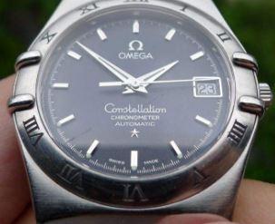欧米茄星座系列手表橡胶表带换钢表带_应该如何选择表带