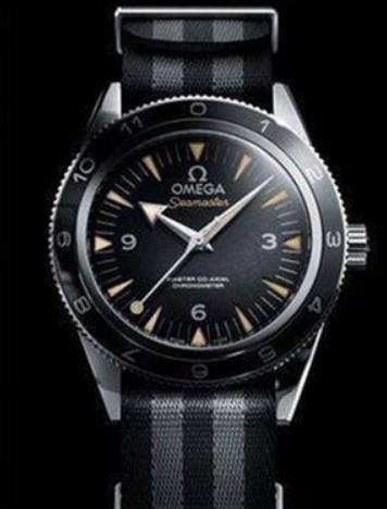 """欧米茄海马300""""幽灵党""""007限量版手表怎么样?欧米茄007"""