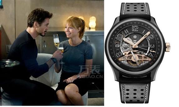 漫威电影出现的手表有哪些,钢铁侠在电影中戴的是哪款手表?