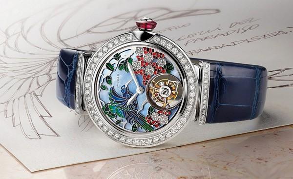 宝格丽全新LVCEA系列珠宝腕表 为时刻分秒与日期提供运转动力
