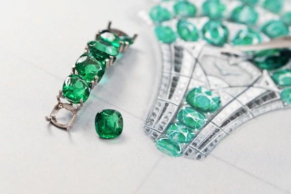 卡地亚全新顶级珠宝及复杂功能腕表 精致工艺演绎自然魅力