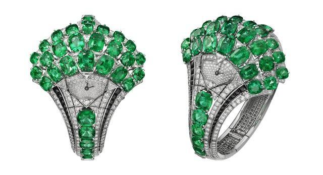 【图】卡地亚高级珠宝腕表,臻美工艺演绎自然魅力